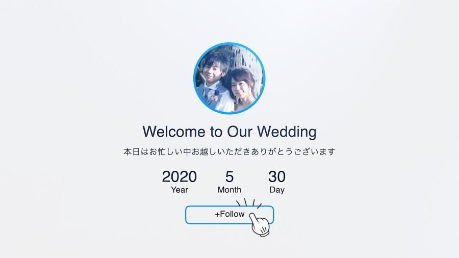 いきものがかり♥結婚オープニングムービー作ります インスタ風のプロのムービーを写真17枚でご負担少なく低価格で
