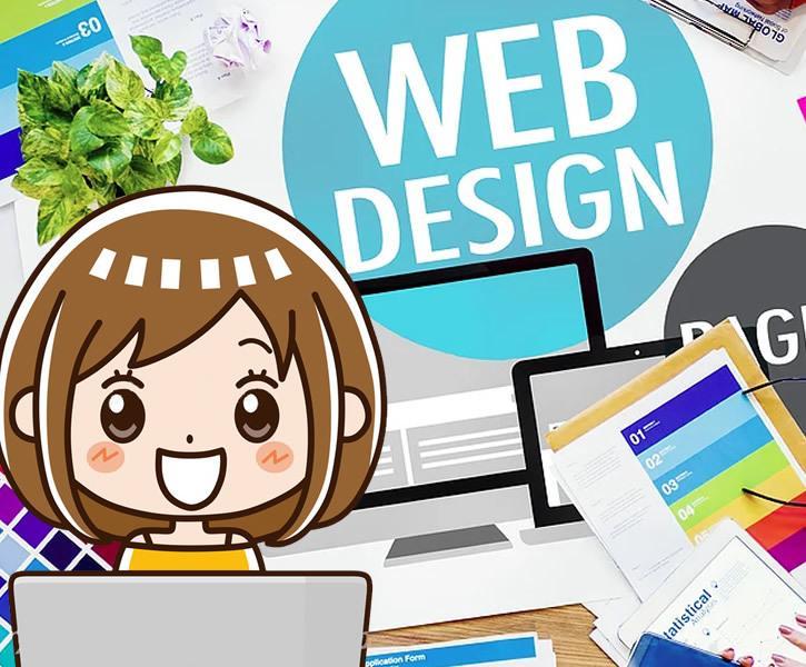 女性デザイナーがホームページを制作します 初めてのHP作成歓迎!経験値と女性ならではのキメ細かく制作 イメージ1
