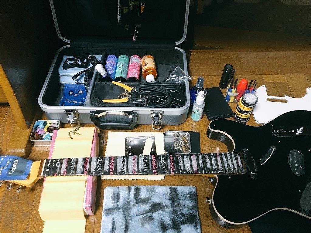ギター、ベースのメンテナンス等楽器のプロが教えます ギター、ベース等楽器店に出さず自分で可能な限りメンテを!