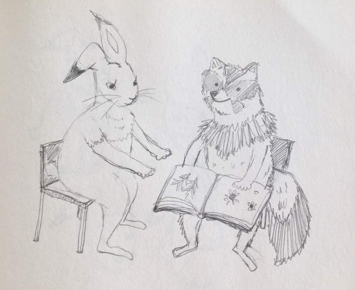 挿絵を描きます 絵本、小説の挿絵を水彩イラストで描きます。