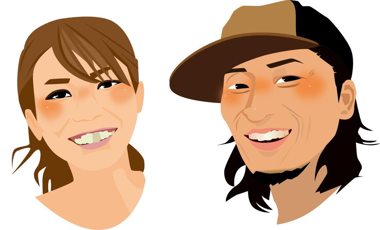 リアルorポリゴン風似顔絵描きます ちょっと一癖ある似顔絵で差をつけよ!