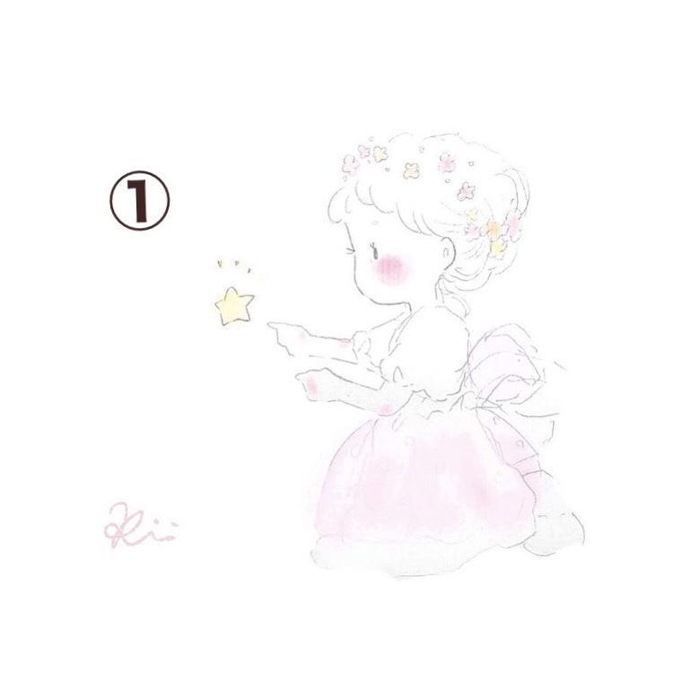 ふんわりテイストのかわいいアイコン描きます ゆるふわデザインの女の子イラスト