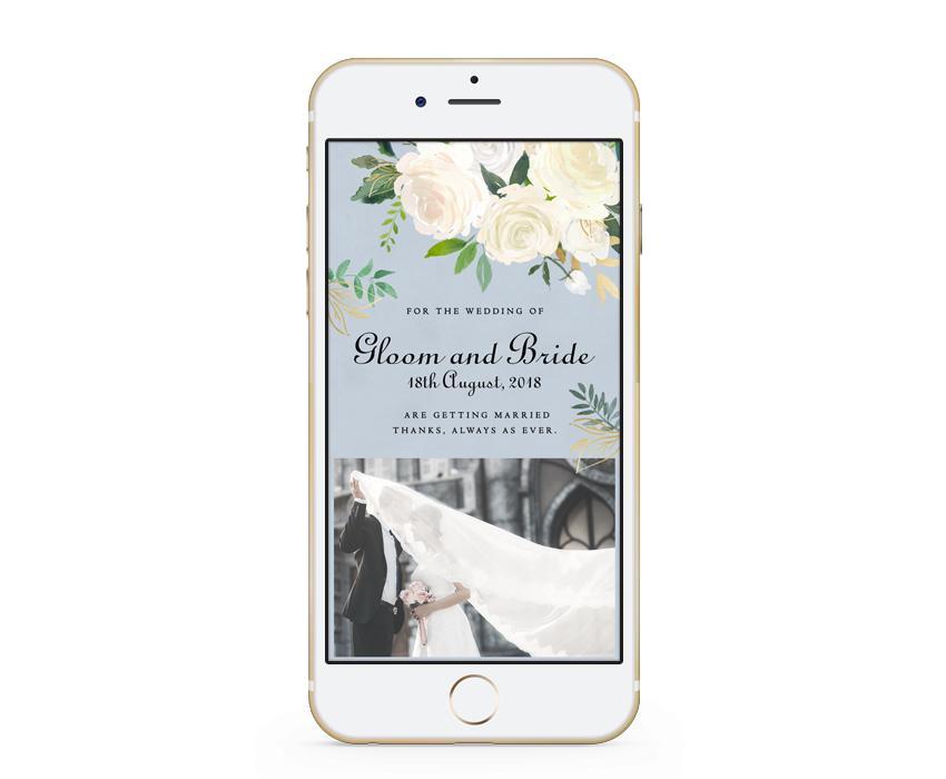 結婚式・二次会などのWEB招待状を制作します 出欠管理や住所録、案内マップなど多数機能付き(フェアリー)