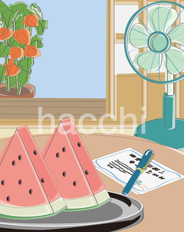 夏のイラストを販売いたします 夏のイラスト3点セットで販売いたします。