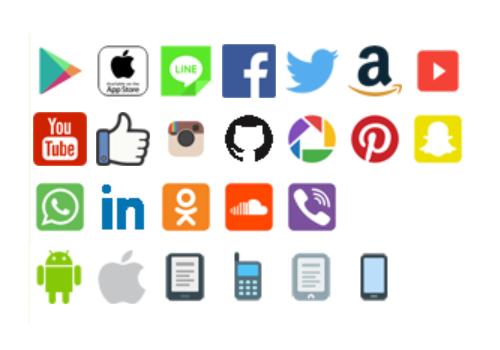 アイコン入りのQRコードを作成します ソーシャルメディアのフォロワー獲得や販促物のPOPに活用!