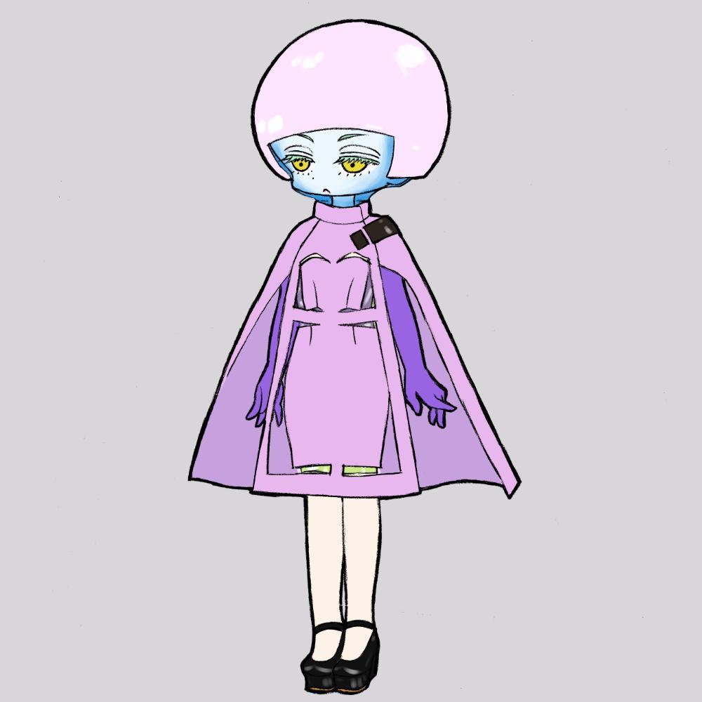 ポップでキュートなファッションイラストを描きます 服飾専門学校出身が描く、かわいいモードイラスト