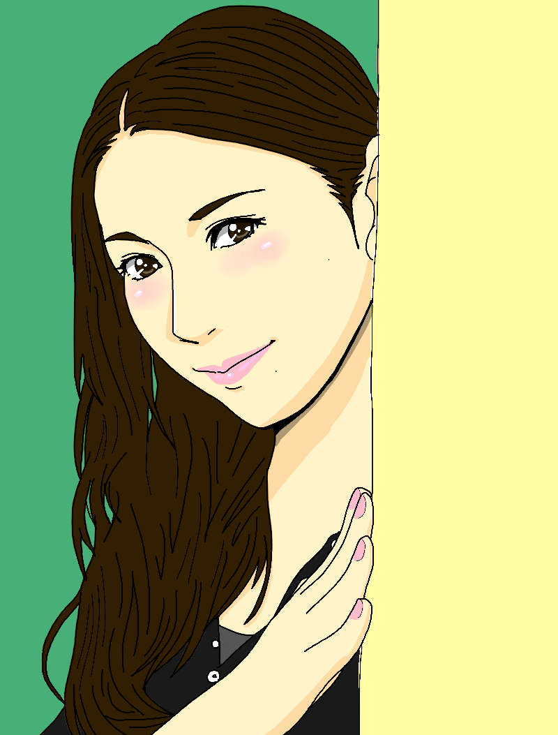 デジタルでアニメ塗りの似顔絵を描かせていただきます 新サービスキャンペーン!コミコミ3500円♪普段は塗り別料金 イメージ1