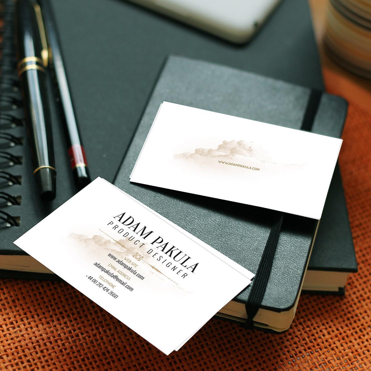 あなただけのオリジナル名刺、制作します 現役プロのデザイナーが名刺両面デザインします!