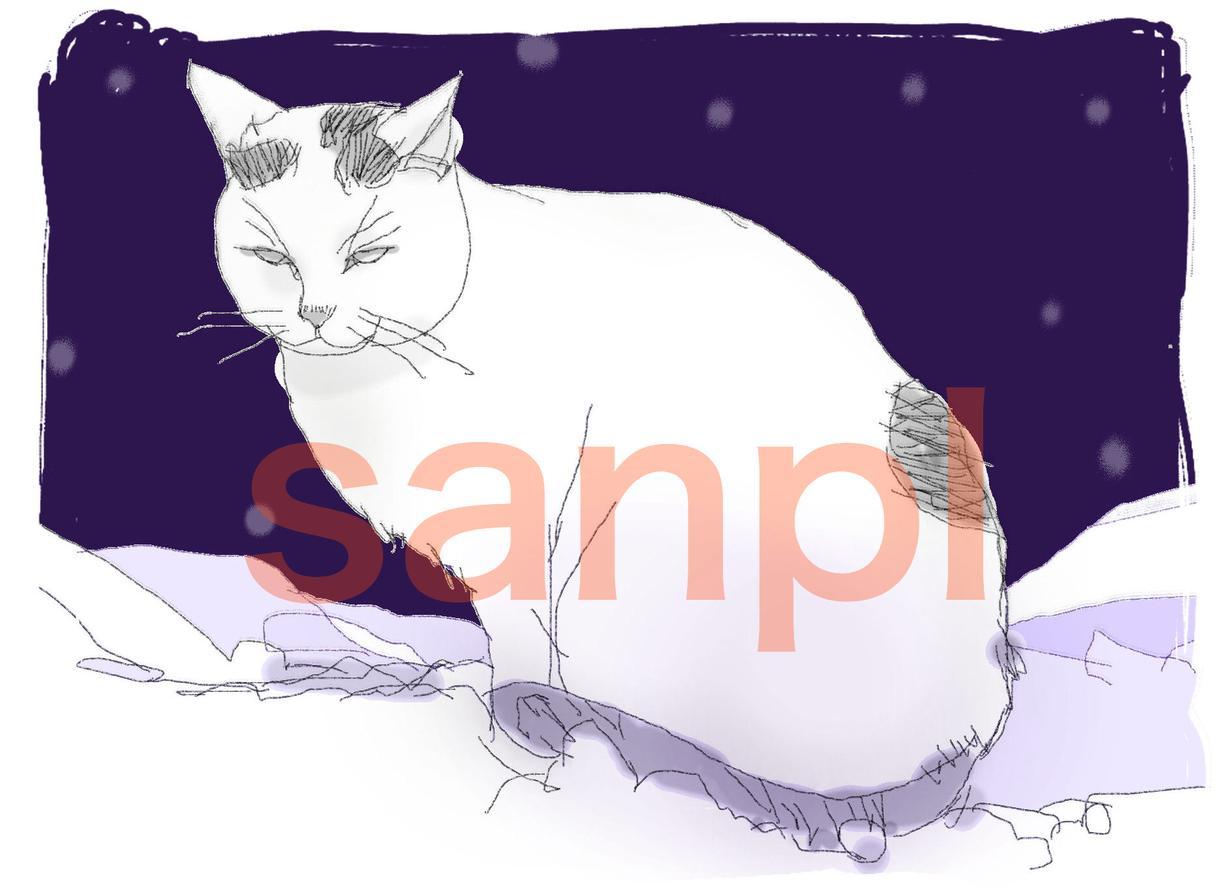 ブログにイラストを掲載可能な方。ねこの絵描きます。