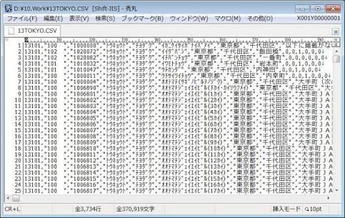 テキストデータ、CSVデータ等を加工します 大量のデータを加工する際に♪ 最短即日! イメージ1