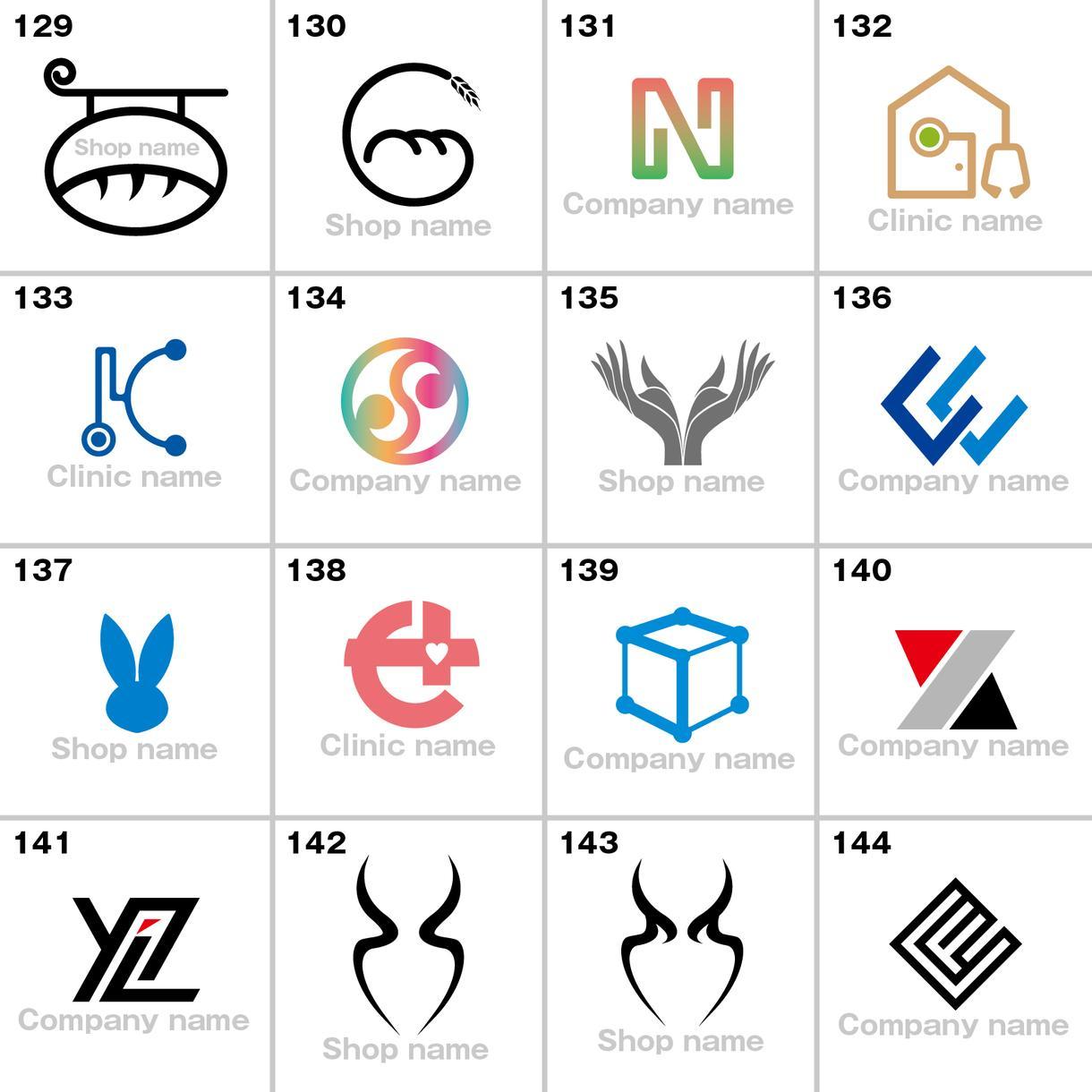 PART2.できてるロゴを販売します 今まで制作した、できてるロゴを格安にて販売いたします。