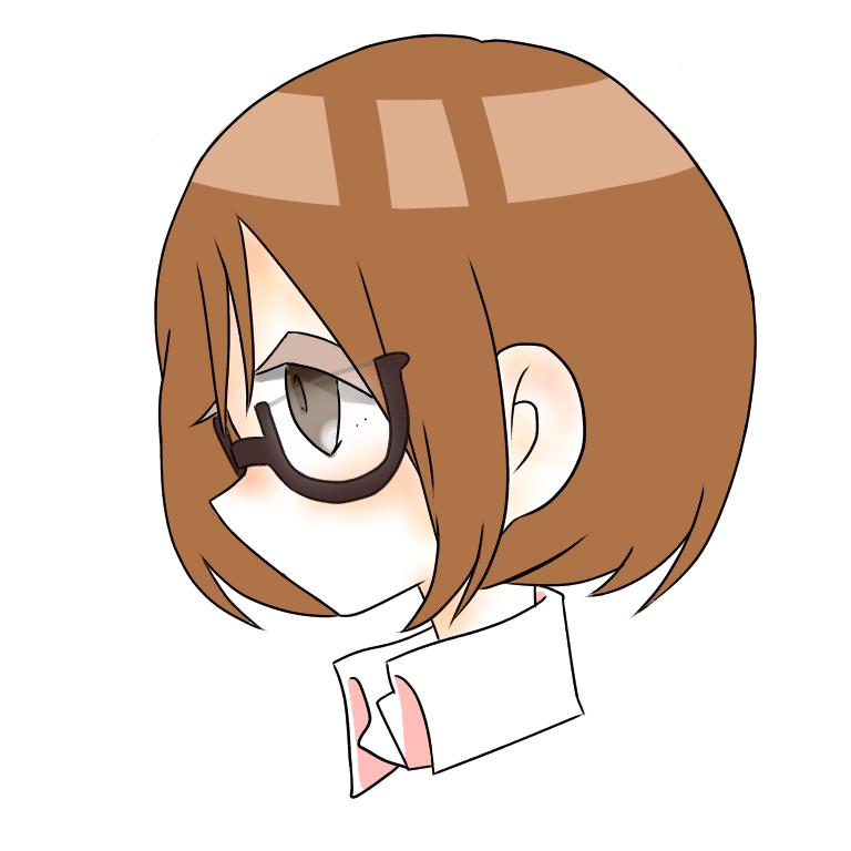 腰から上のキャラクターor似顔絵ちびキャラ描きます SNSのアイコンにも使える大きさでお描きします。