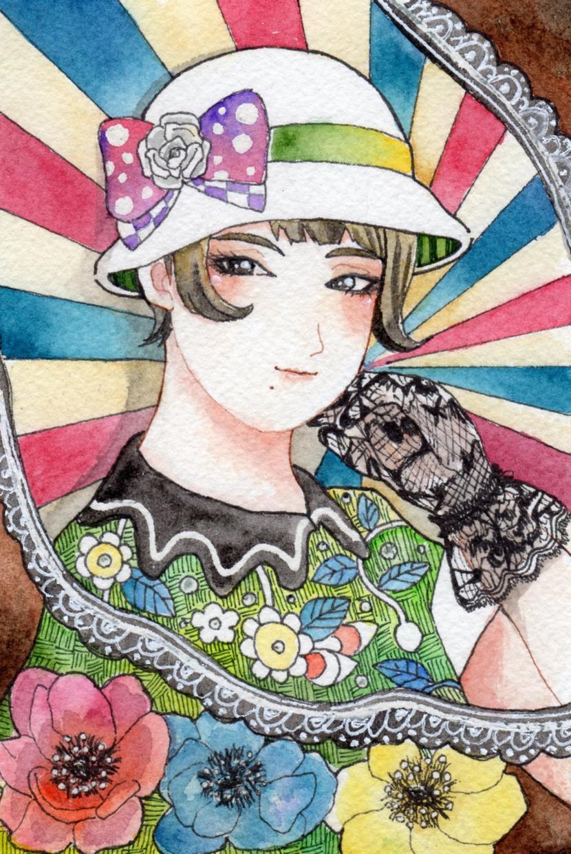 アナログイラスト描きます 女の子や女性イラストを描きます