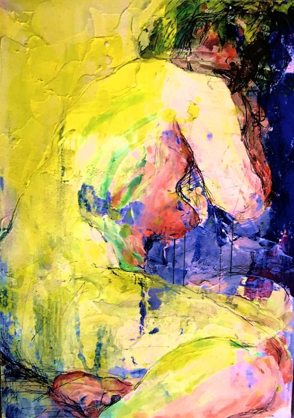インテリア用におしゃれなアート絵画描きます 多摩美日本画卒生があなたのお店やお部屋をアートで彩ります!