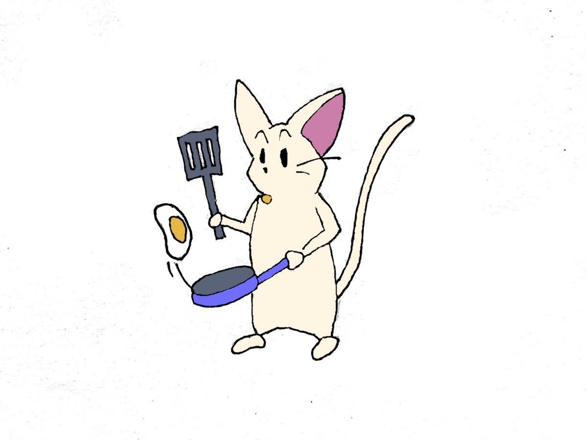 SNS(Twitter等)用のアイコンを描きます 「猫×あなたの好きなこと」を絵にします。