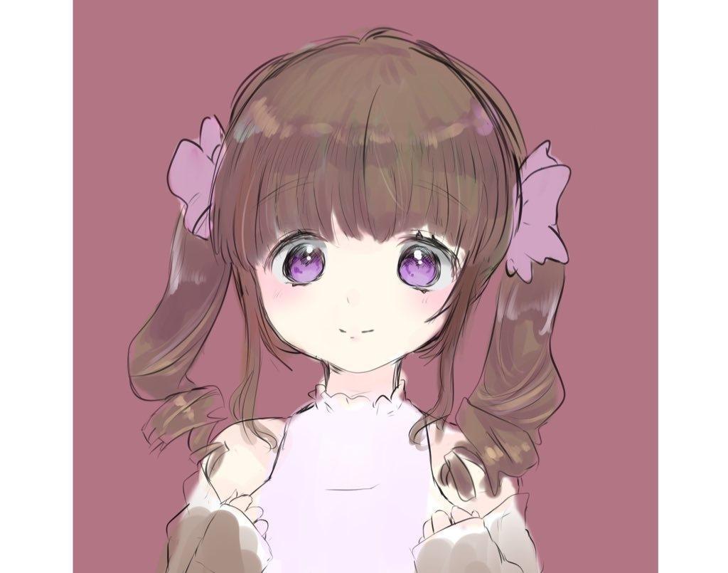 可愛い少女のSNS用アイコンをご提供します 守りたくなるような少女のイラストをお描きします! イメージ1