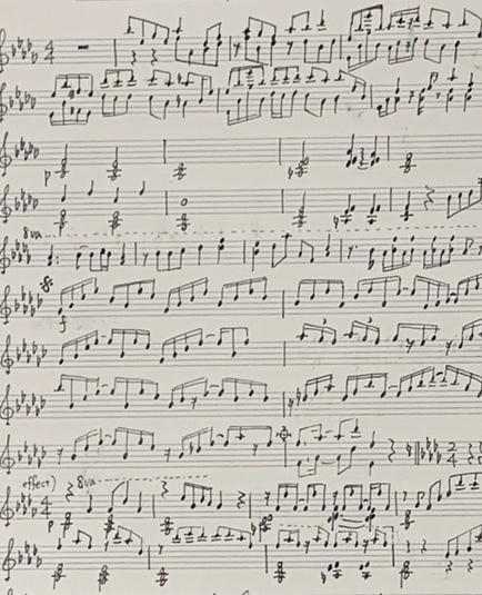ジャンル・パート不問!コードや楽譜の耳コピ承ります 絶対音感に自信があります!年間80曲程度耳コピをしています! イメージ1