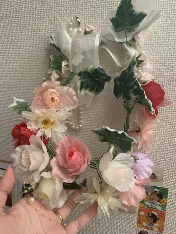 結婚式でも使える髪飾り作ります 花の髪飾りやビーズの豪華なネックレスなど作成します。
