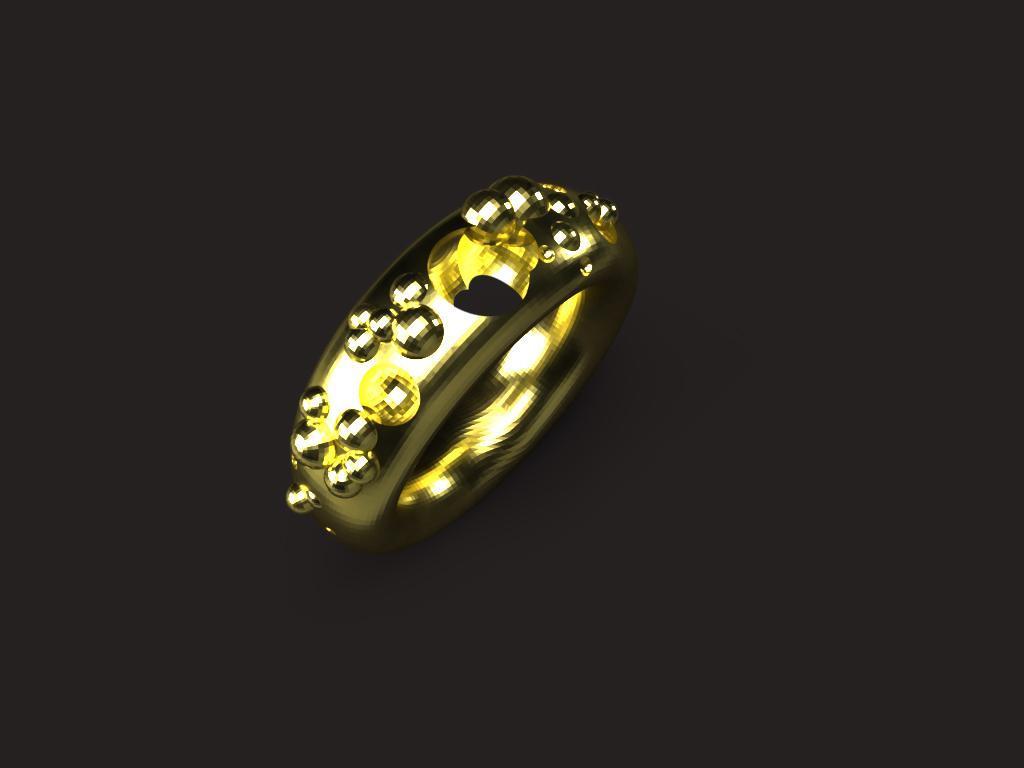 お好みの形のリングを鋳造します ありとあらゆる形のリングを作れます。