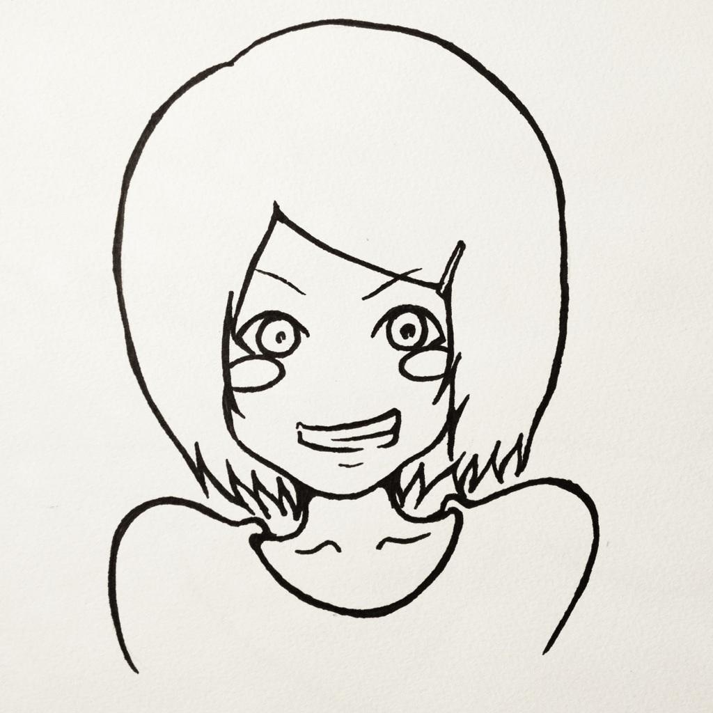 TwitterやFacebookにどうぞ!似顔絵アイコン描きます!