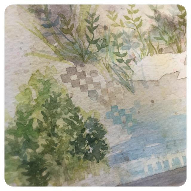 透明水彩でイラストを描きます アナログでしか見られない紙と絵の具の風合いを求める方へ