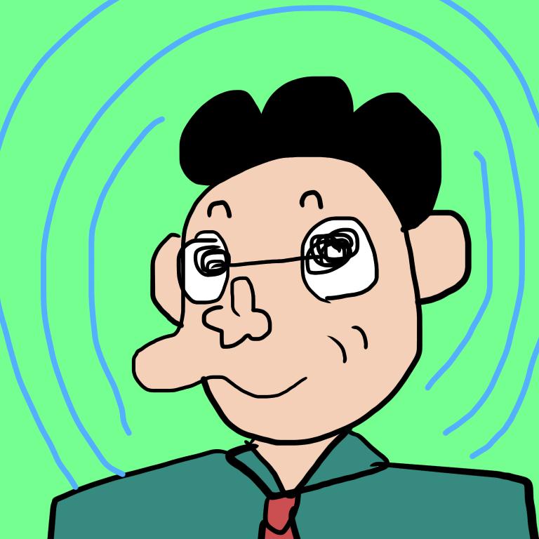 使い方自由!おじさんイラスト描きます おるおる!こんな人!または、似顔絵もどうぞ。