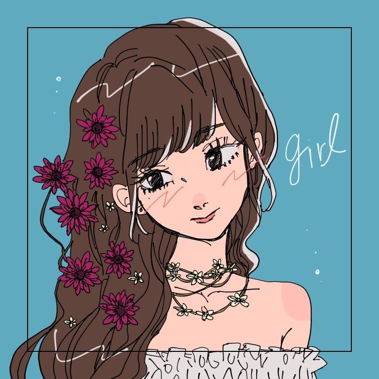 イラスト描きます 女の子のイラストが得意です☺︎(商用利用も!) イメージ1