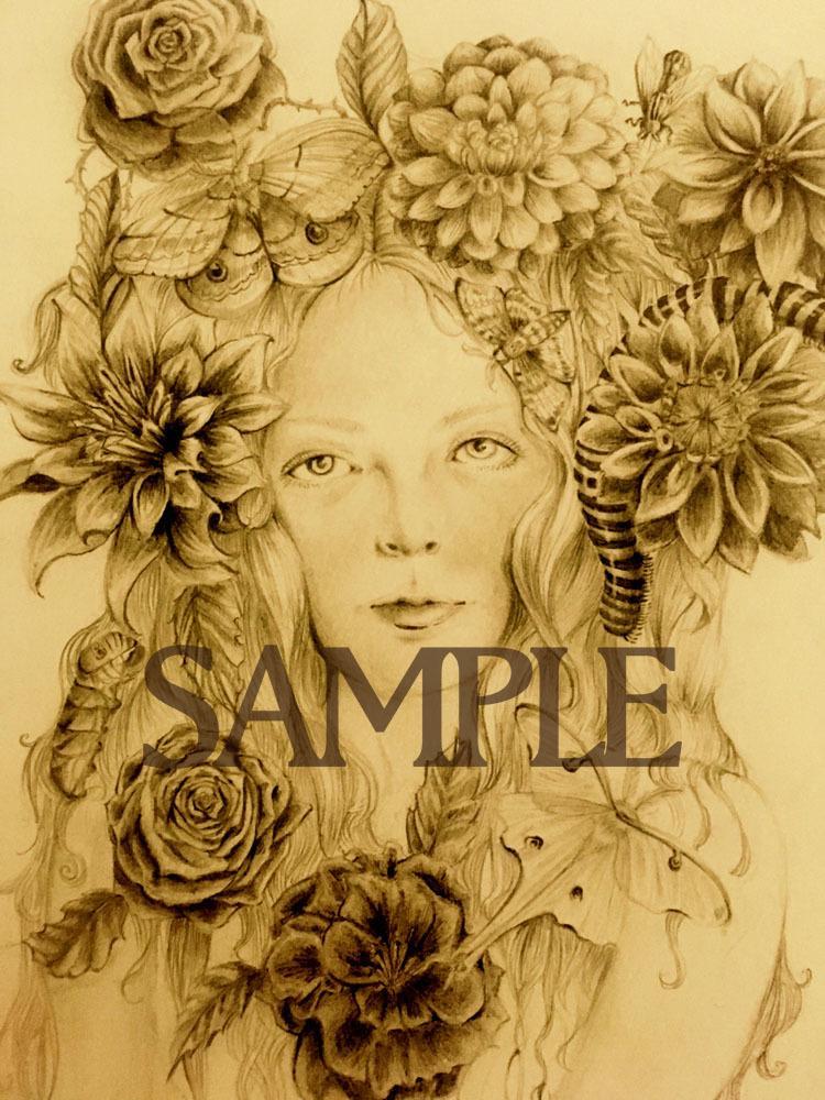 手描きイラスト描きます ちょっぴり退廃的な手描きイラスト イメージ1