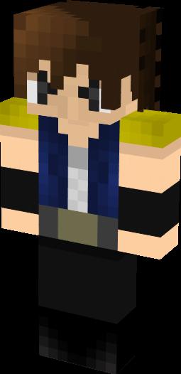 Minecraftスキンを作製します!