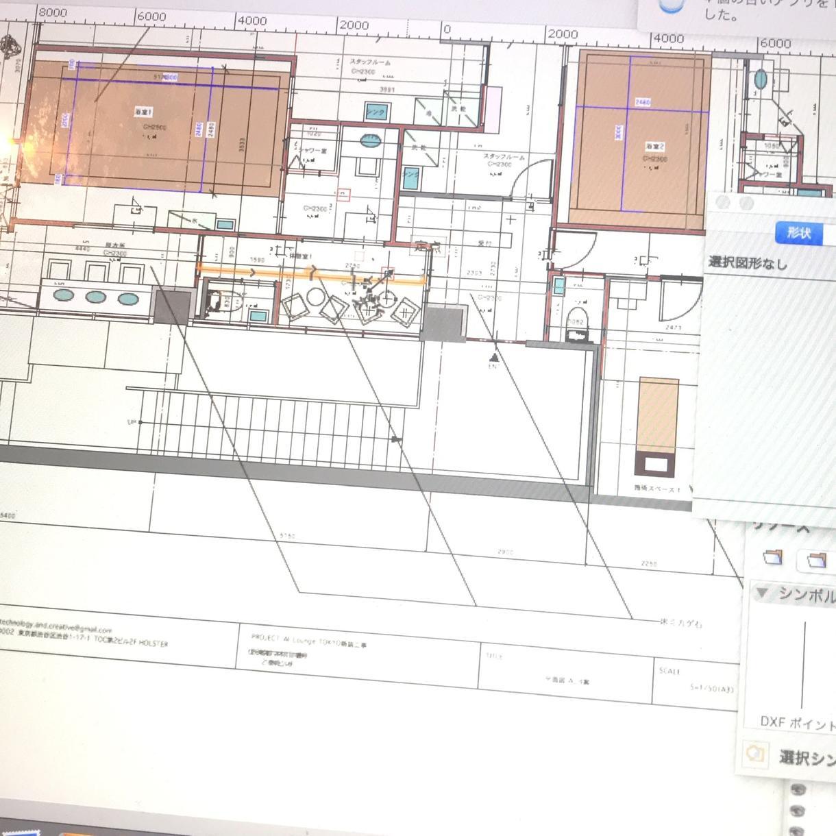 手書きの平面図をデータ化します 工務店 デザイナー様 お手伝い致します。