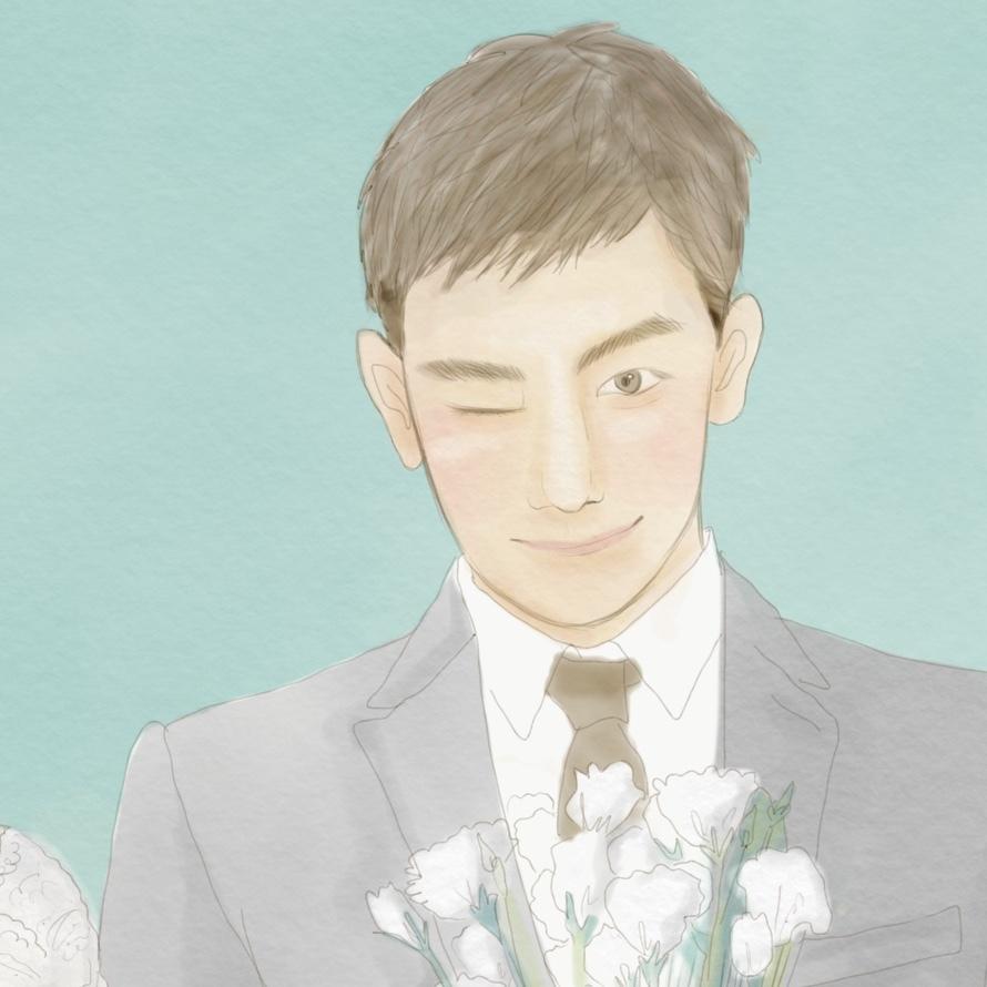 デジタルのウェルカムボード描きます 結婚式のウェルカムボードをどうするかお悩みの方へ