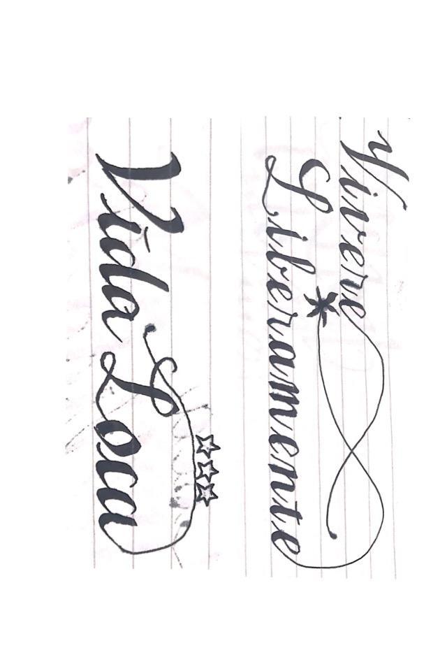 タトゥーデザイン(アルファベットをお洒落に)します オリジナルデザインを彫りたい・作成したい方にオススメ