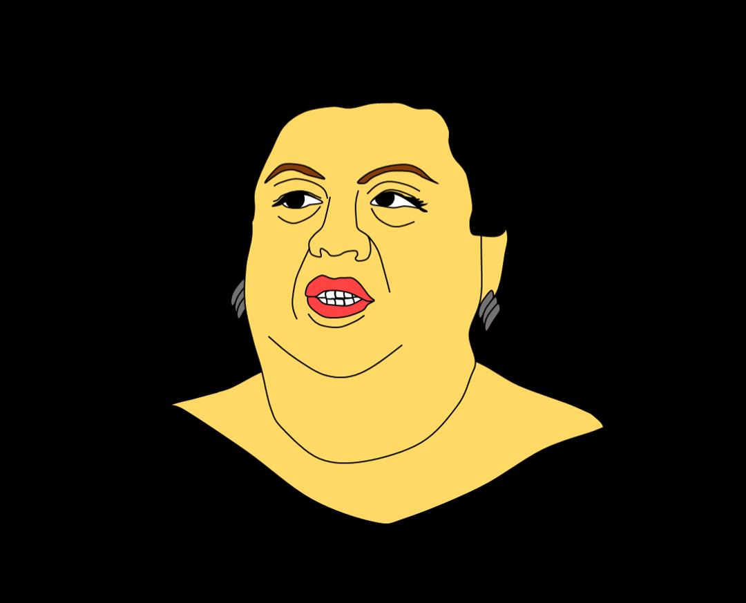 パワーポイントで手作り風似顔絵描きます プレゼン資料などに部署メンバーの似顔絵はいかがでしょうか?