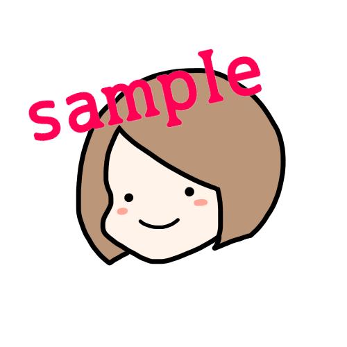 カラーとモノクロのシンプルな似顔絵描きます お急ぎの方必見!!基本24h以内にお渡し!