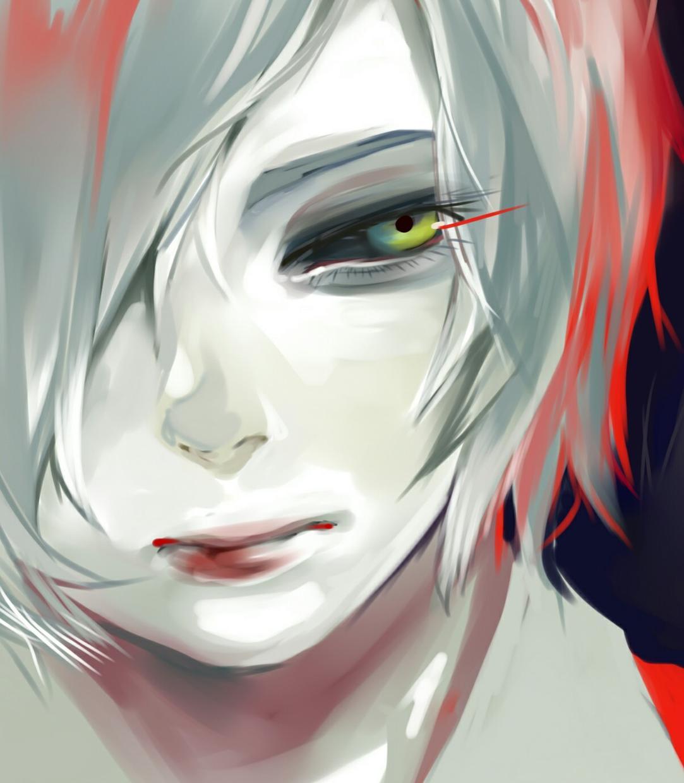 【期間限定500円】東京喰種風アイコンイラスト描きます イメージ1