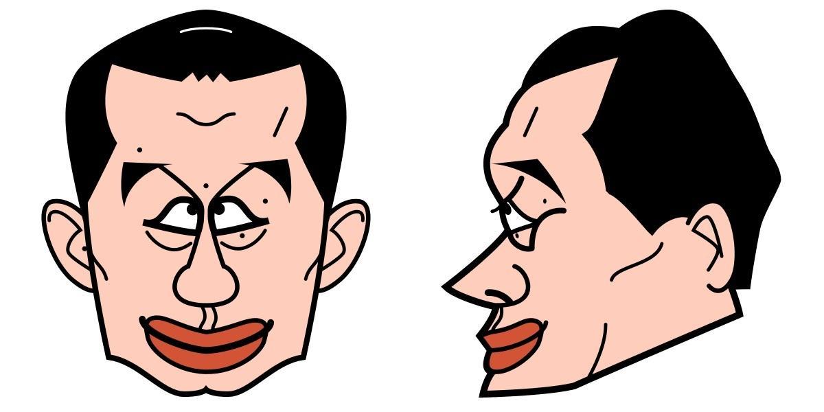 シンプルな似顔絵お描きします こちらはシンプルな似顔絵用になります。