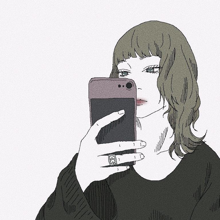 SNS等のアイコンをお洒落に描きます あなたの写真を違うカタチで残しませんか?