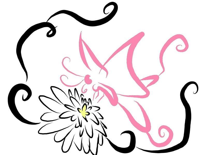 あなただけのSNSアイコンなど描きます 龍や花・蝶々などを描きます!用途に渡り、サイズ変更します