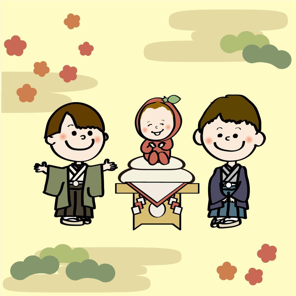 スヌーピー風家族(3名様〜)の似顔絵かきます 入学・卒業・家族の記念日に!贈り物にもいかがでしょうか?