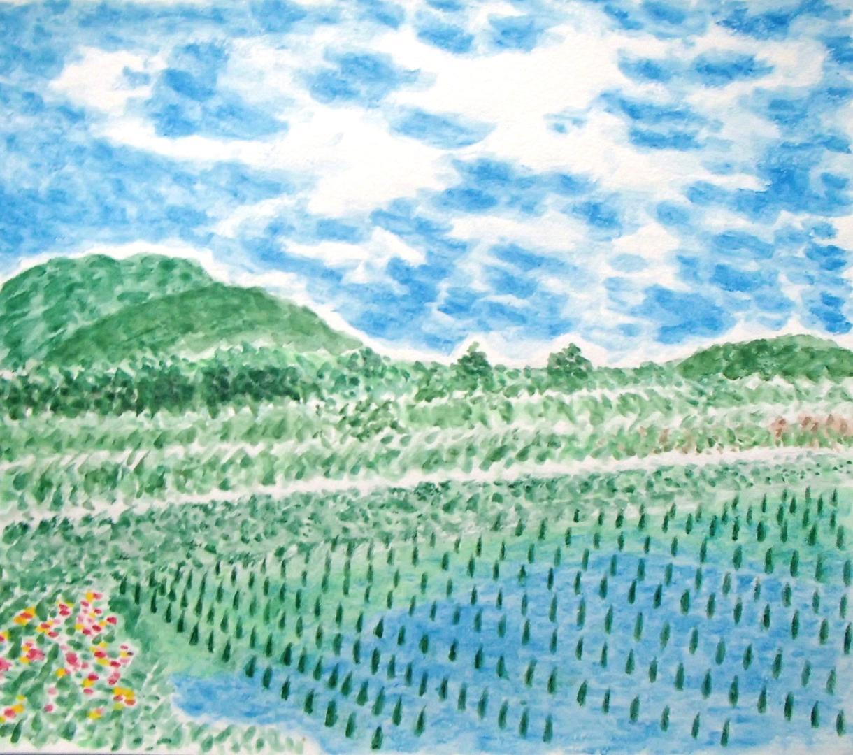 日本ならではの美しい風景を描きます パソコンなどの壁紙、個人観賞用にオススメしております。