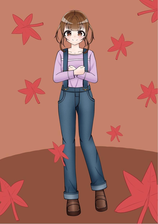 アイコンやイラストお描きします かわいい女の子描きます!(*´꒳`*)
