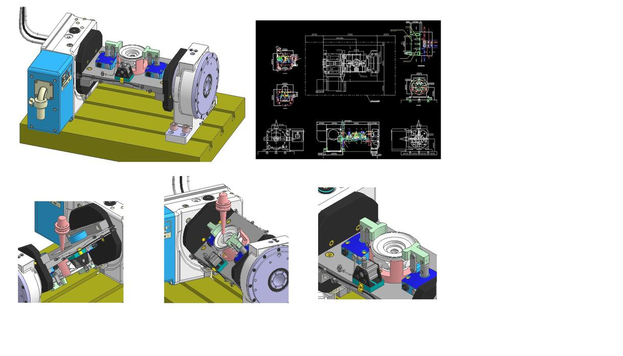 各種機械、加工治具、試作の設計サポートします ものづくり応援します。構想イメージを形にします! イメージ1