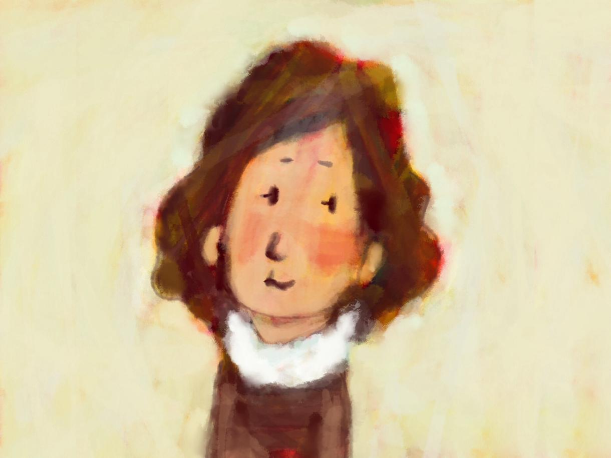 手描き風のかわいいタッチで似顔絵やイラストを描きます!