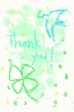 ハッピーなポストカードのイラスト描きます お祝い事をしたい方、自分のイメージの絵を描いて欲しい方へ