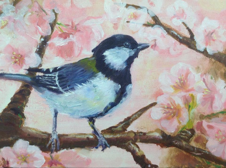 お好きなモチーフで油絵をお描きいたします ペットや、お好きなお花、思い出の品や風景など