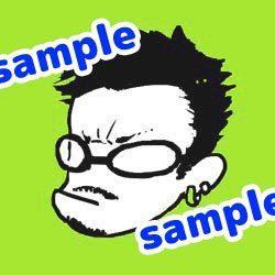 デフォルメ似顔絵イラストを描きます SNSやブログなどでオリジナルアイコンを使用しませんか?