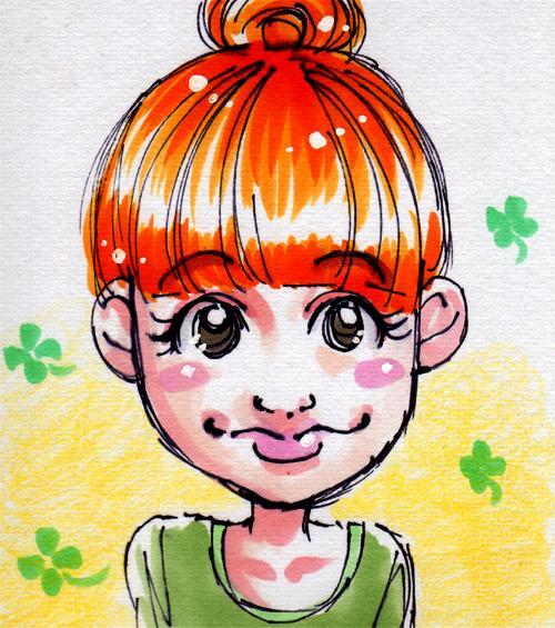 【☆CUTE☆な似顔絵描きます♪】写真を元にSNSやブログのアイコン・プロフ作成します☆