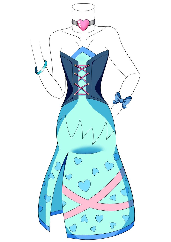 創作キャラクターのお手伝いをします 衣装デザイン!キャラクターに装いを!