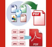 1つのPDFファイルで納品します 多種類ソフトやファイル形式のデータを変換して1つのPDFに