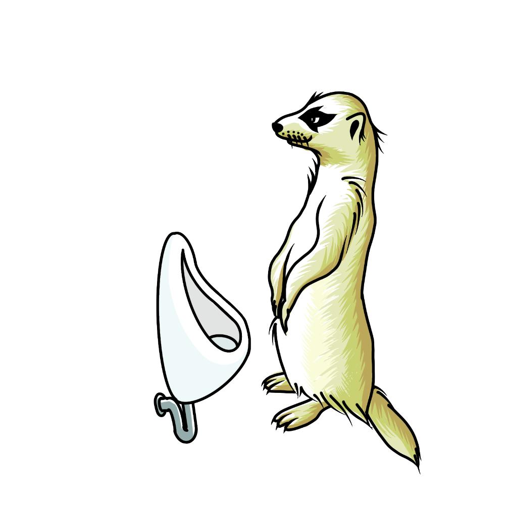 かわいい動物イラストを作成します オリジナルグッズ作成の素材としていかがですか?